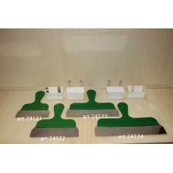 Steekmes 25cm groen handvat